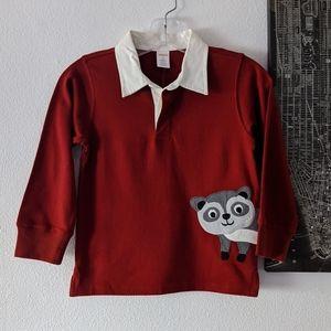 {Gymboree} Brand New Raccoon Boys Top